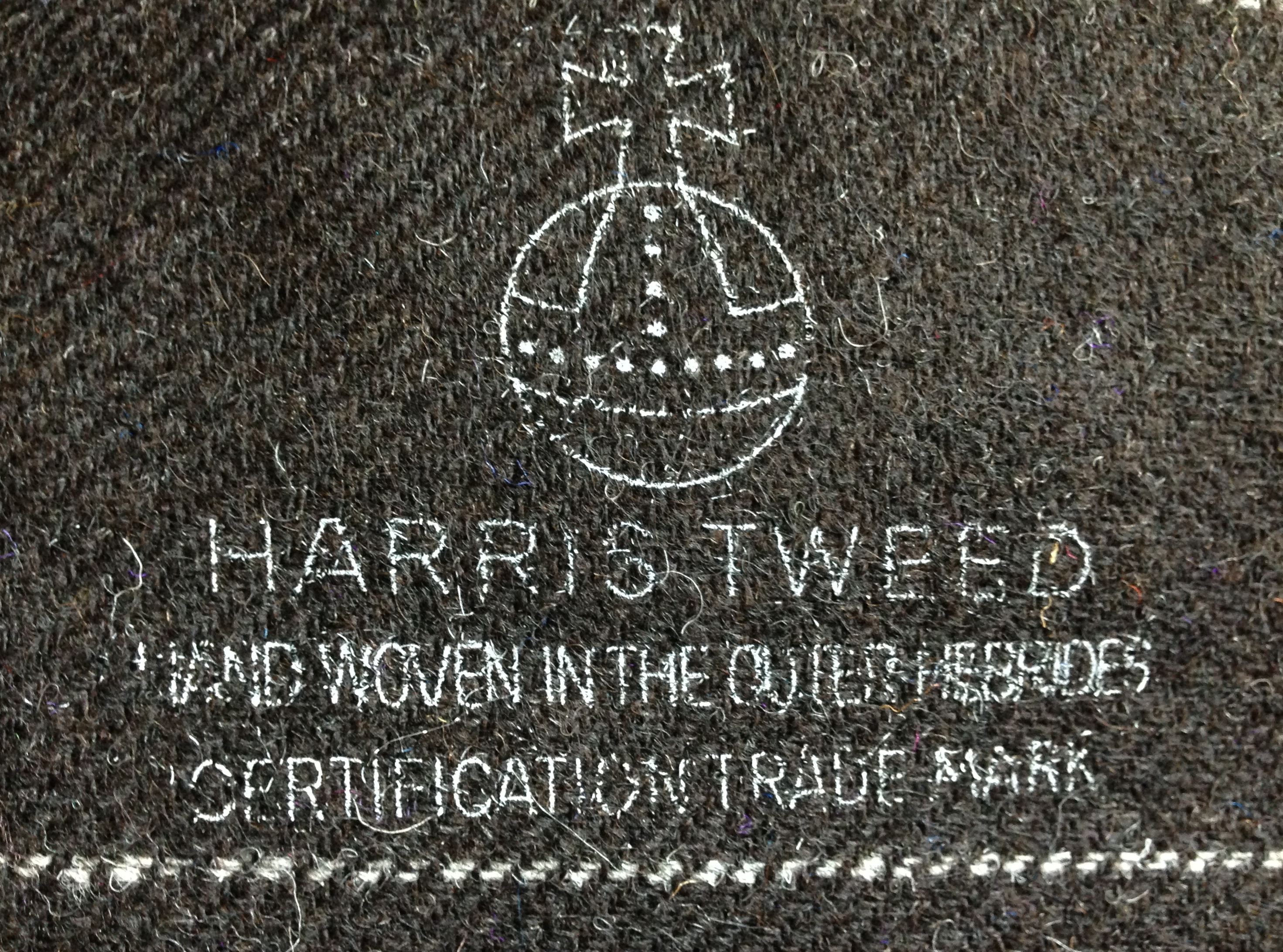 Uist Wools first Harris Tweed, using Hebridean Blackface cross wool from 9 different crofts.
